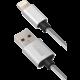 YENKEE YCU 601 SR USB / lightning kabel 1 m, bílá