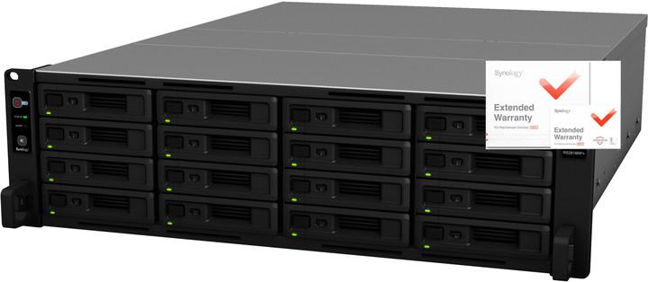 Synology RackStation RS2818RP+ + rozšířená záruka na 5 let