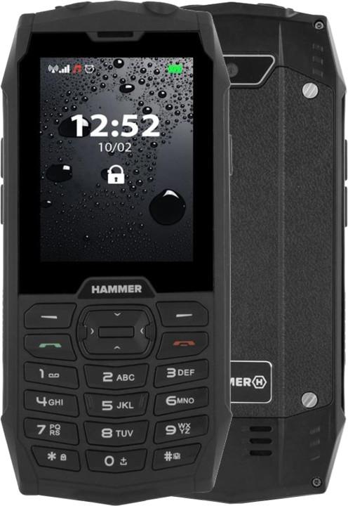 myPhone Hammer 4, Black