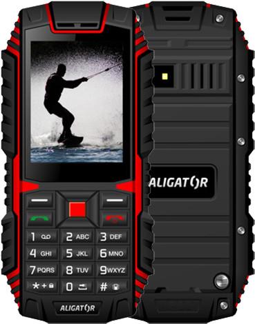 Aligator R12 eXtremo, černá/červená