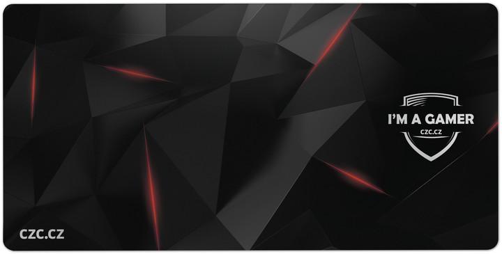 CZC G-Vision Dark, XXL, herní, látková