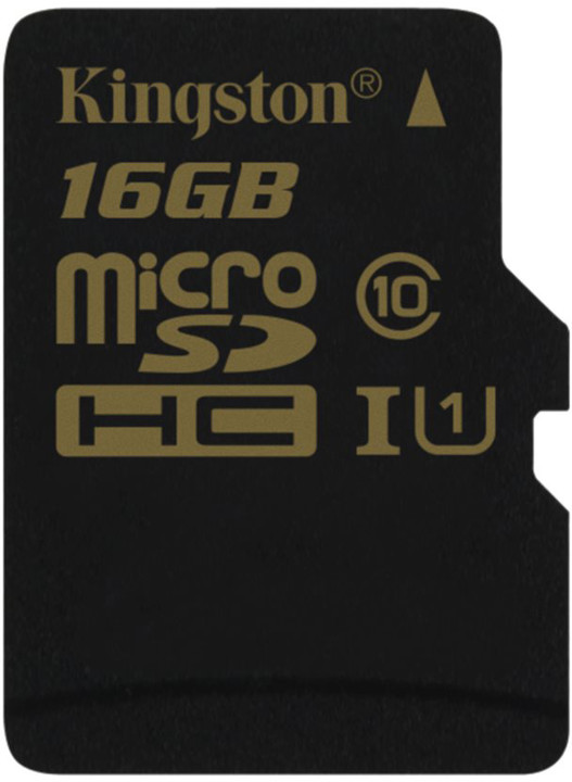 Kingston Micro SDHC 16GB Class 10 UHS-I