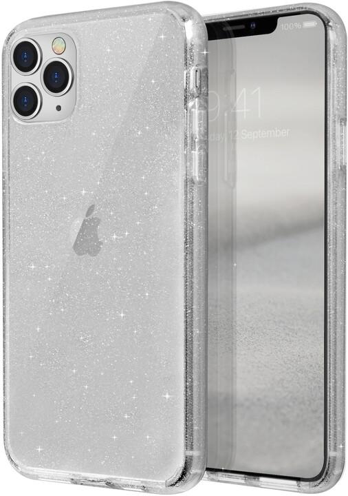 UNIQ LifePro Tinsel Hybrid pouzdro pro iPhone 11 Pro Max, Lucent, čiré