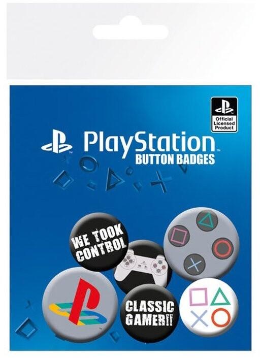 Odznaky Playstation, 6 kusů