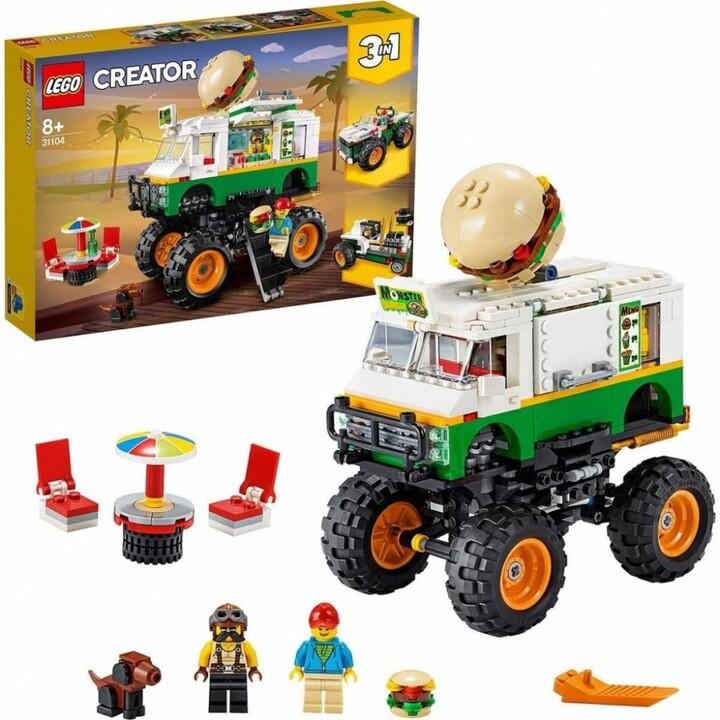 LEGO® Creator 31104 Hamburgerový monster truck
