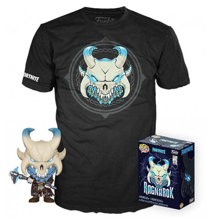 Set Fortnite - Ragnarok figurka POP! a pánské tričko (XL)