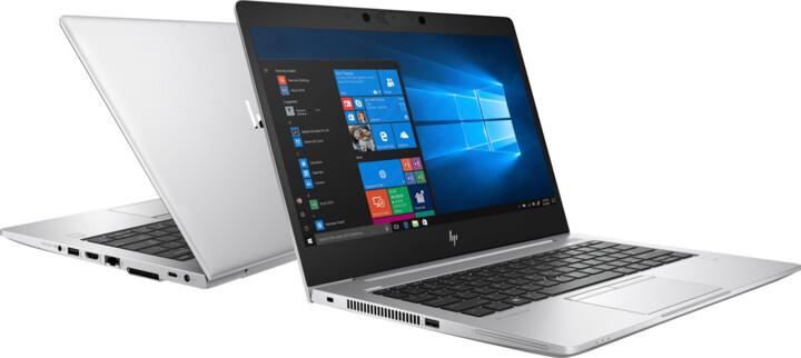 HP EliteBook 830 G6, stříbrná