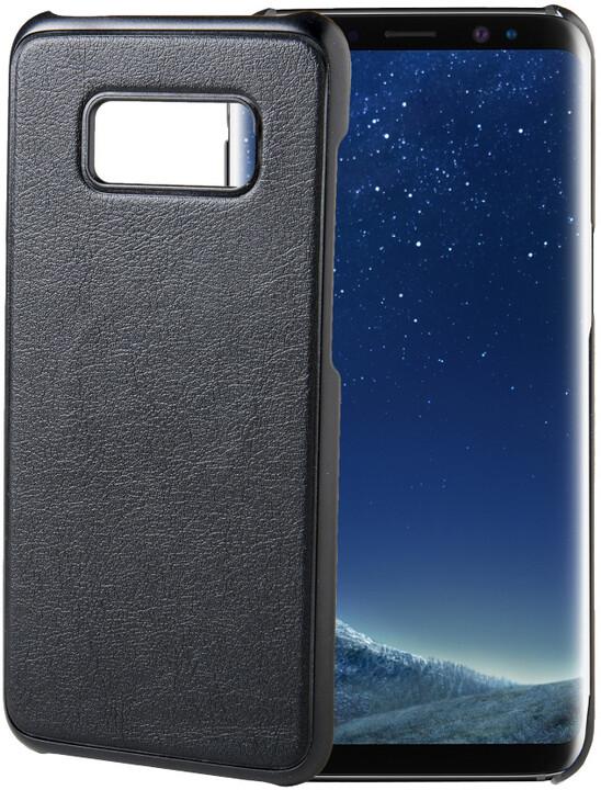 CELLY GHOSTCOVER Zadní magnetický kryt pro Samsung Galaxy S8, kompatibilní s GHOST držáky, černý
