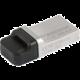 Transcend JetFlash 880S 64GB, stříbrná