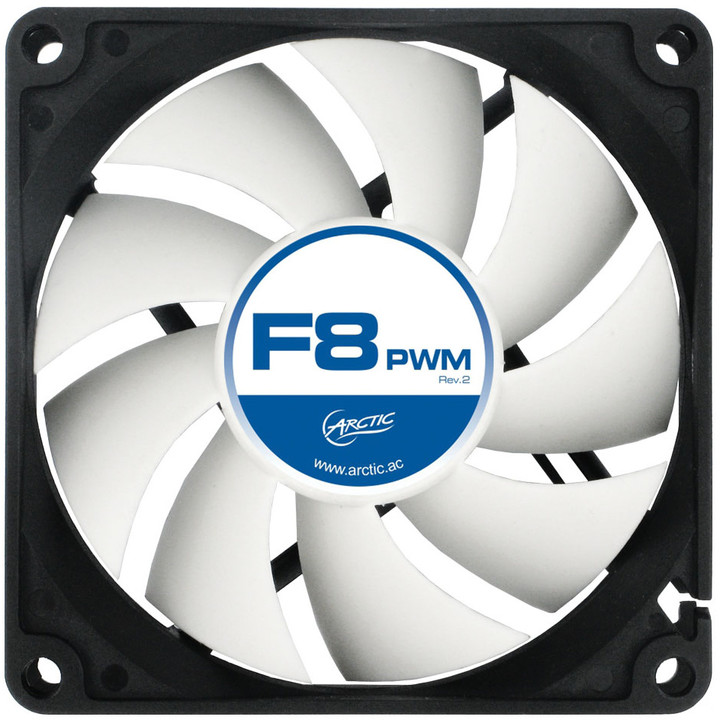 Arctic Fan F8 PWM rev.2