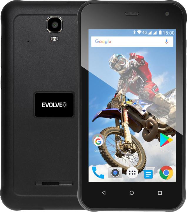 Evolveo StrongPhone G2, 2GB/16GB, černá