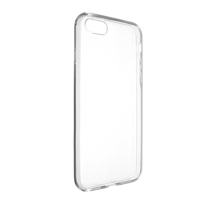 FIXED Skin ultratenké TPU gelové pouzdro pro Apple iPhone 7/8/SE 2020, 0,6 mm, čiré