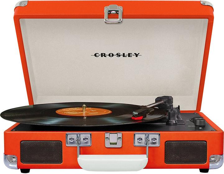 Crosley Cruiser Deluxe, oranžová