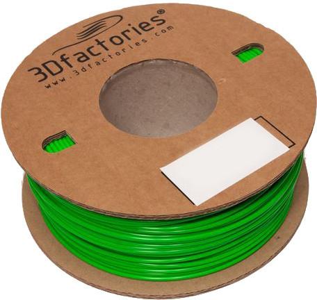 3D Factories tisková struna PLA zelená 1,75mm 1 Kg