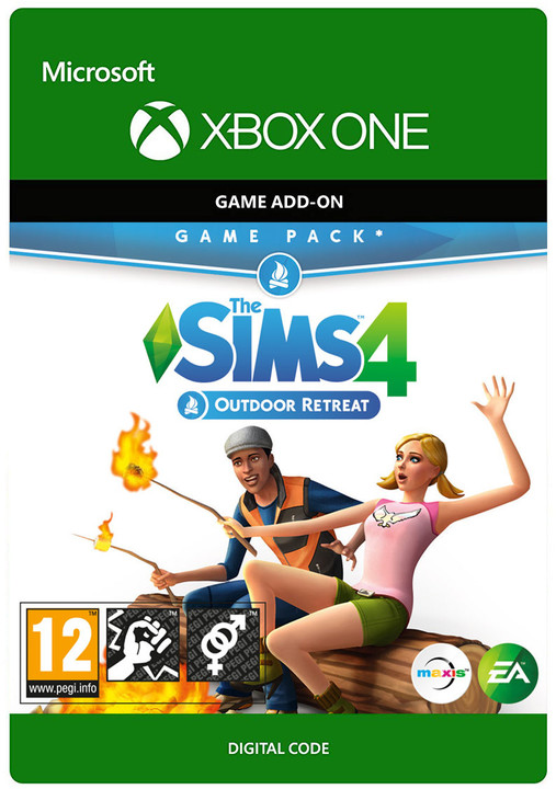 The Sims 4: Outdoor Retreat (Xbox ONE) - elektronicky