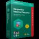 Kaspersky Internet Security multi-device 2018 CZ pro 1 zařízení na 12 měsíců, obnovení licence  + Voucher až na 3 měsíce HBO GO jako dárek (max 1 ks na objednávku)