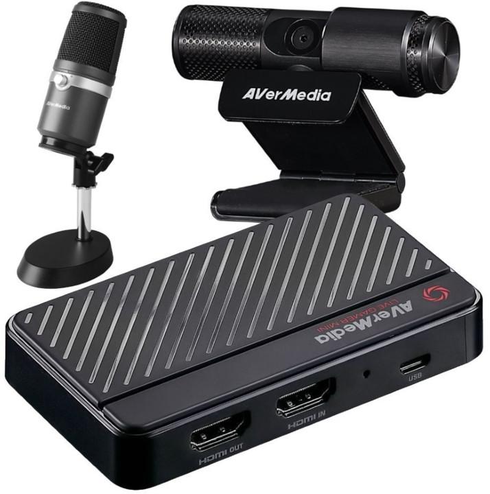 AVerMedia Live Streamer BO311 Streaming Kit