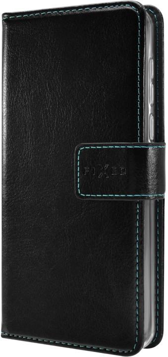 FIXED pouzdro typu kniha Opus pro Nokia 7.1, černá