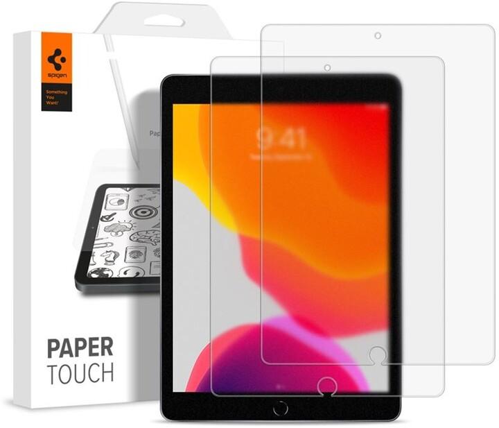 """Spigen ochranná fólie Paper Touch pro iPad 10.2"""" (2019/2020), 2ks"""