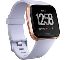 Fitbit Versa (NFC) - Rose Gold / Periwinkle