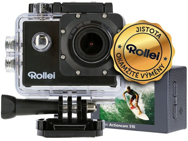 Rollei ActionCam 510, černá