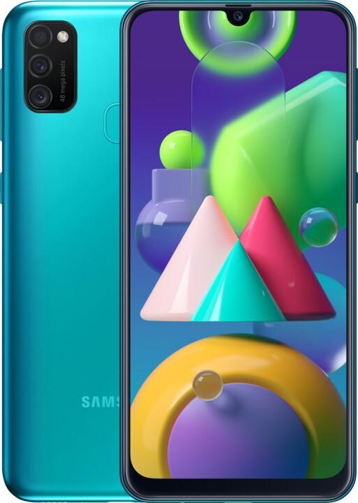 Samsung Galaxy M21, 4GB/64GB, Green