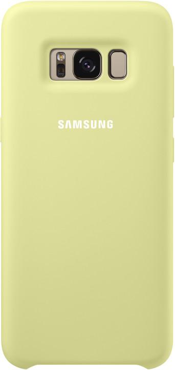 Samsung S8+, silikonový zadní kryt, zelená