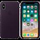 Apple kožený kryt na iPhone X, lilkově fialová