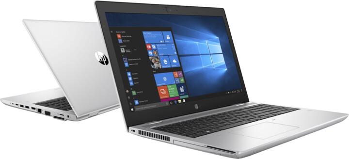 HP ProBook 650 G5, stříbrná