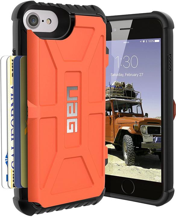 UAG trooper case Rust, orange - iPhone 8/7/6s