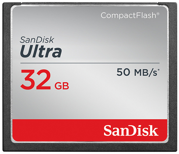 SanDisk CompactFlash Ultra 32GB 50MB/s