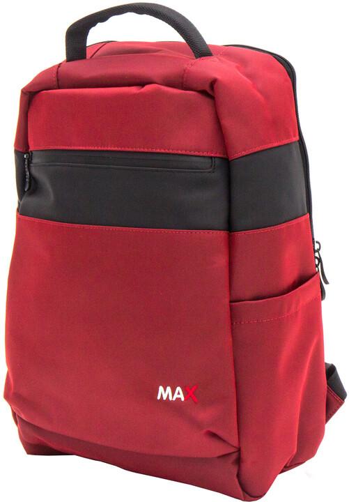 """MAX batoh na notebook 15,6"""", vínová"""