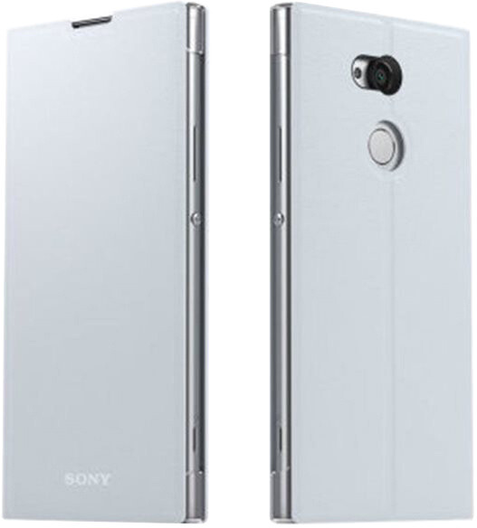 Sony Style Cover Flip SCSH20 pro Xperia XA2 Ultra, stříbrná