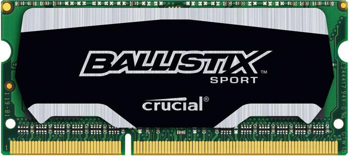 Crucial Ballistix Sport 4GB DDR3 1600 SO-DIMM