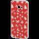 EPICO pružný plastový kryt pro Samsung Galaxy J5 (2017) RED XMAS