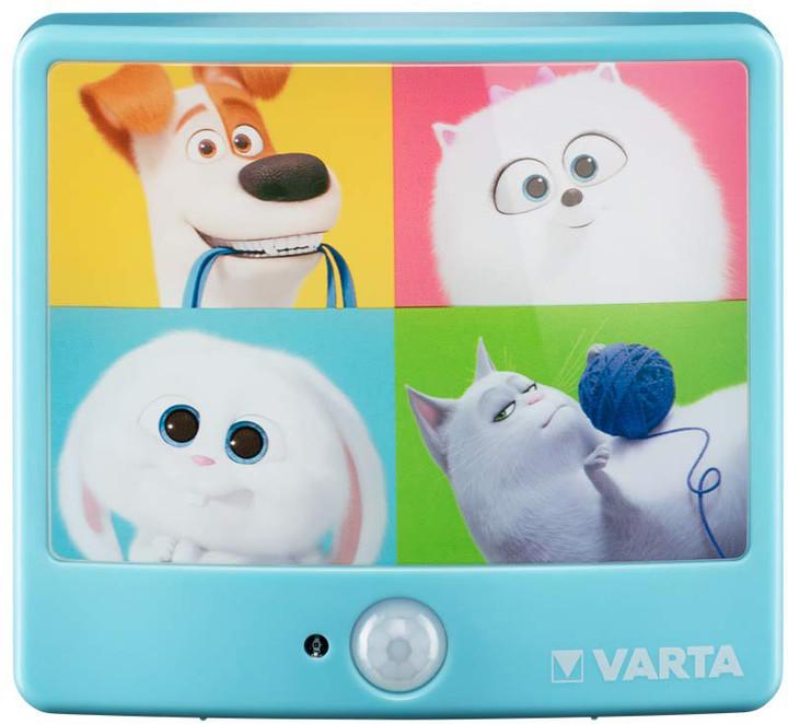 VARTA svítilna The Secret Life of Pets Motion Sensor