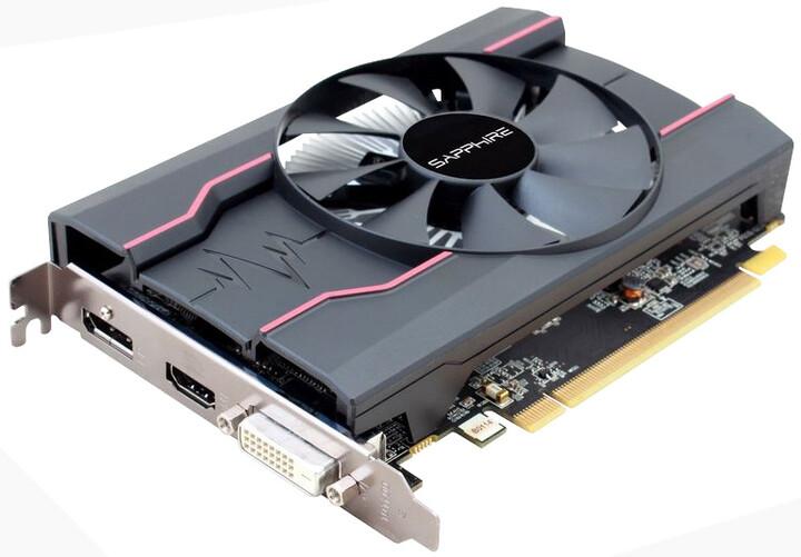 Sapphire Radeon PULSE RX 550 4GD5, 4GB GDDR5