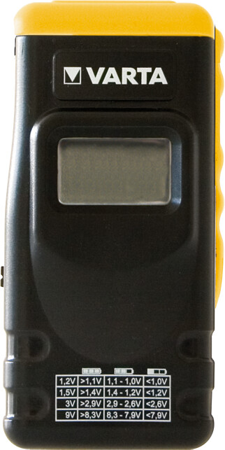 VARTA tester baterií s LCD