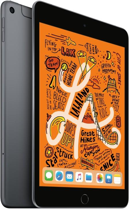 Apple iPad Mini, 256GB, Wi-Fi + Cellular, Grey, 2019 (5. gen.)