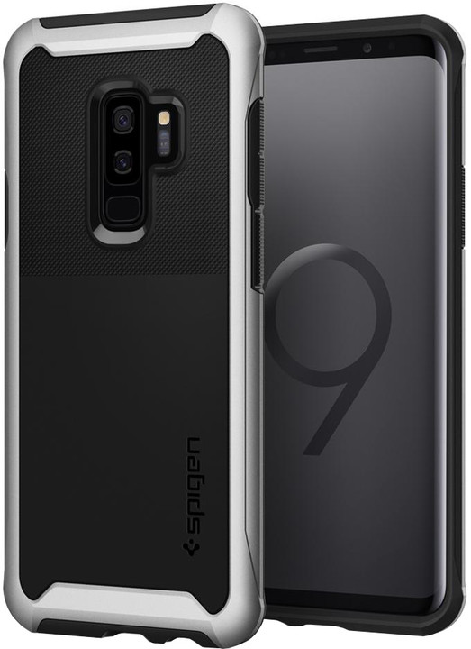 Spigen Neo Hybrid Urban pro Samsung Galaxy S9+, arctic silver