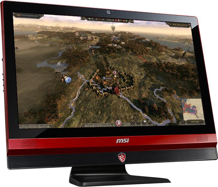 MSI Gaming 24 6QE-025EU, černo-červená