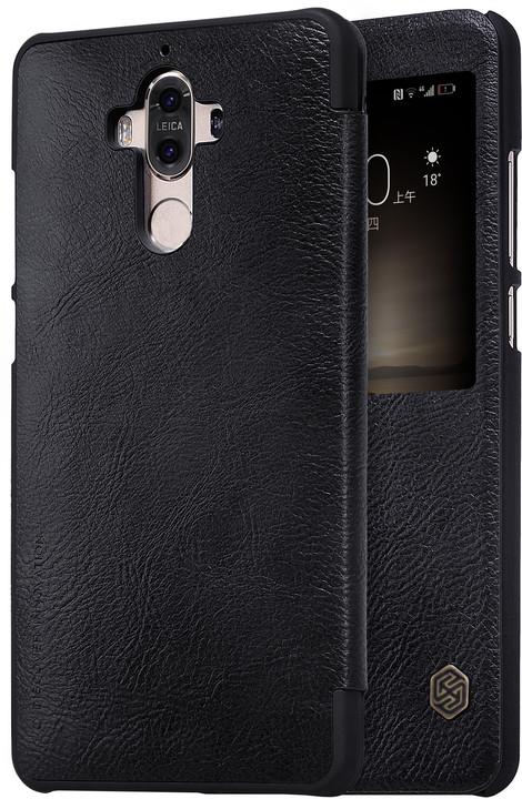 Nillkin Qin S-View Pouzdro Black pro Huawei Mate 9