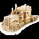 Stavebnice RoboTime Americký tahač, dřevěná