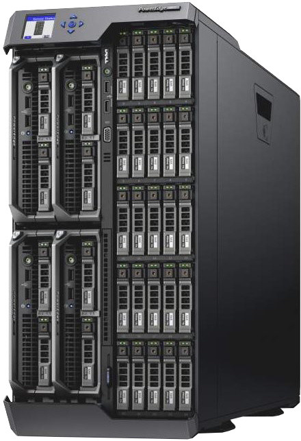 Dell PowerEdge VRTX /Bez CPU/Bez RAM/3x 300GB SAS 10K/H710P/Bez OS