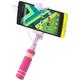Accent mini selfie tyč, růžová