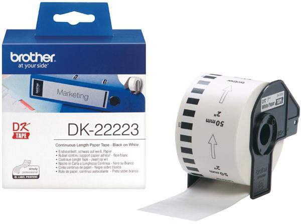 Brother - DK22223 (papírová role 50mm x 30,48m)