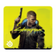 SteelSeries QcK Cyberpunk 2077, žlutá