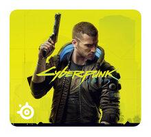 SteelSeries QcK Cyberpunk 2077, žlutá - 63407