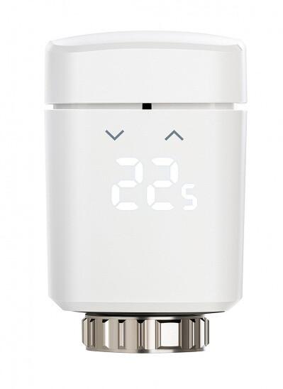 Elgato Eve Thermo Smart Radiator Valve, Apple HomeKit (Chipset 2020) -chytrá radiátorová hlavice