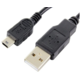 Forever datový kabel USB / miniUSB TFO, černý